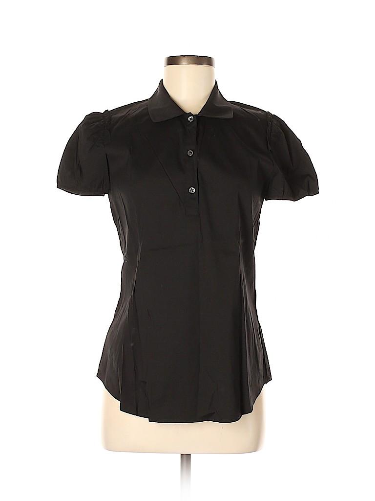 Theory Women Short Sleeve Polo Size M