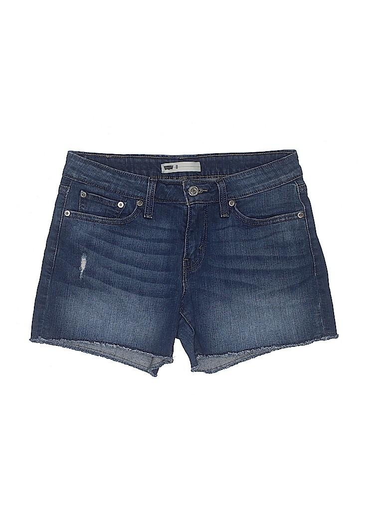 Levi's Women Denim Shorts Size 8