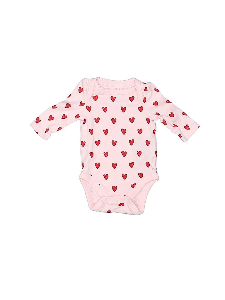 Baby Gap Girls Long Sleeve Onesie Up to 7lbs