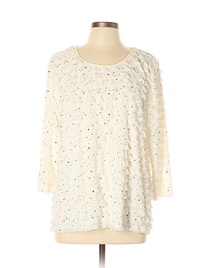 Elementz Women 3/4 Sleeve Blouse Size XL