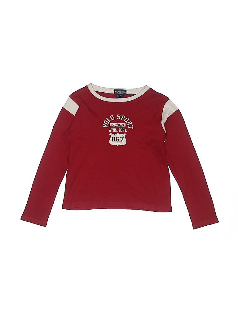 Ralph Lauren Girls Long Sleeve T-Shirt Size 6X