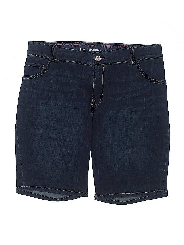Lee Women Denim Shorts Size 16