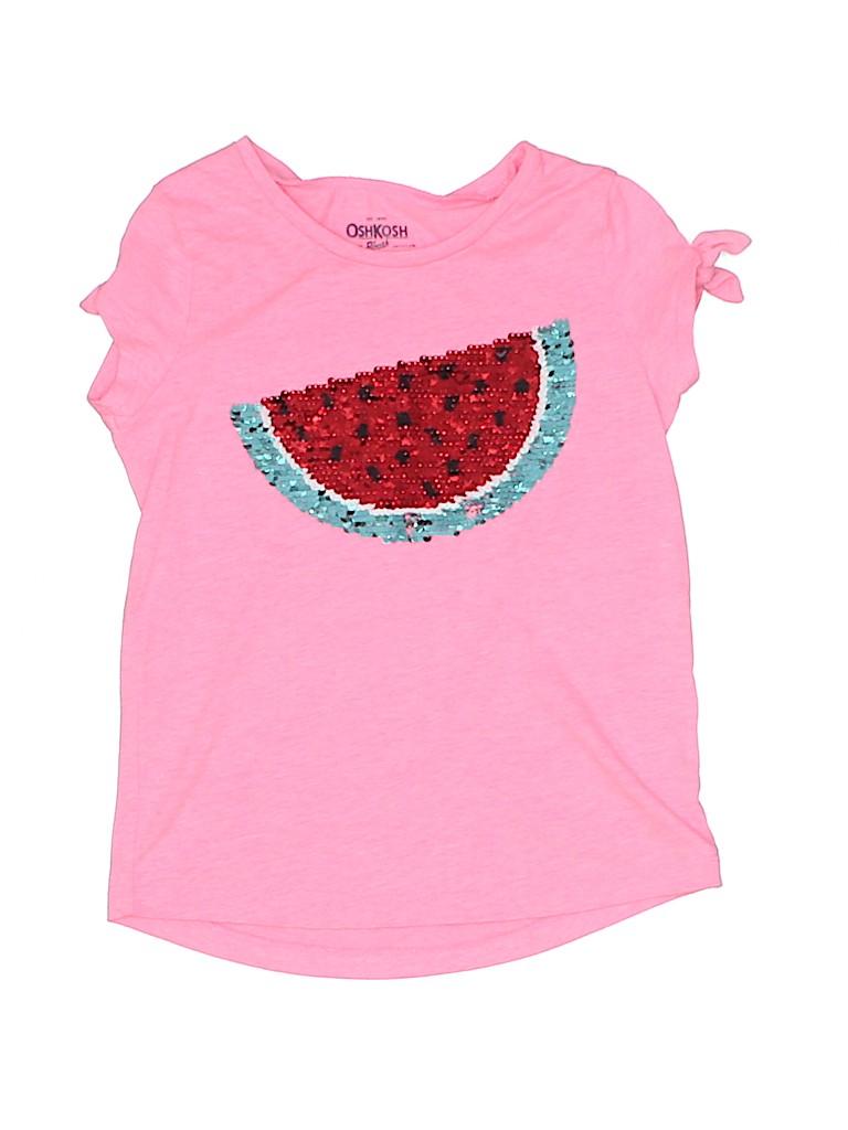 OshKosh B'gosh Girls Short Sleeve T-Shirt Size 6 - 6X