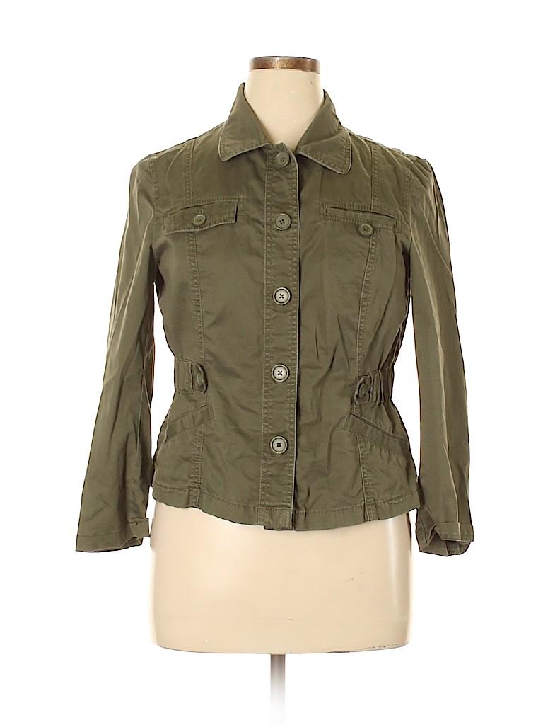 Ann Taylor LOFT Women Jacket Size 14 (Petite)