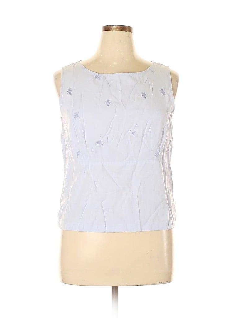 Norton McNaughton Women Sleeveless Blouse Size 16