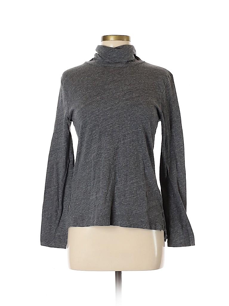 Madewell Women Long Sleeve Turtleneck Size M