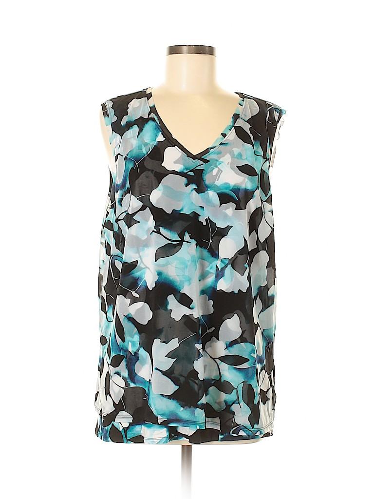 Simply Vera Vera Wang Women Sleeveless Top Size XL