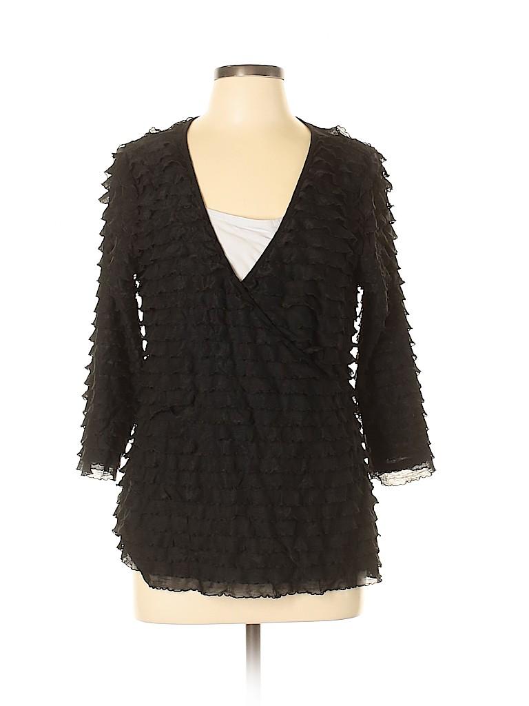 Elementz Women 3/4 Sleeve Top Size L