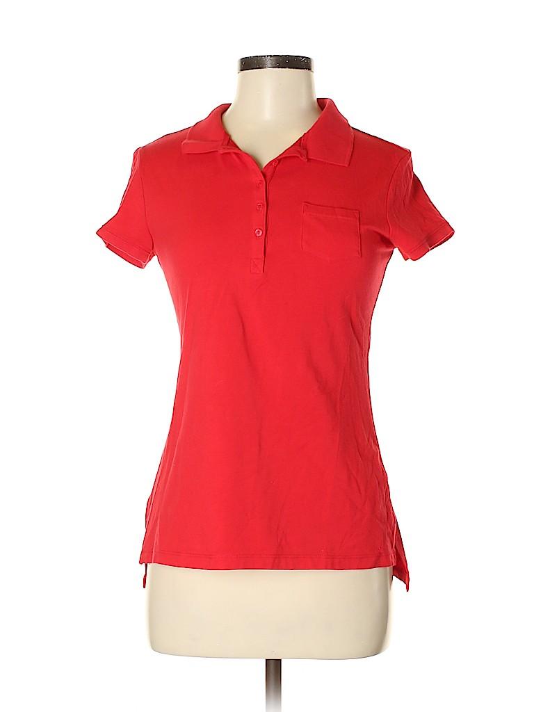 No Boundaries Women Short Sleeve Polo Size 7 - 9