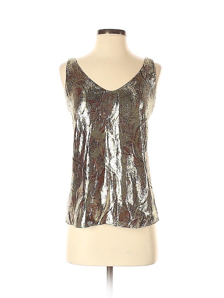 J. Crew Women Sleeveless Silk Top Size 4