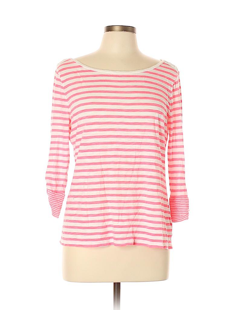 Gap Outlet Women 3/4 Sleeve T-Shirt Size L