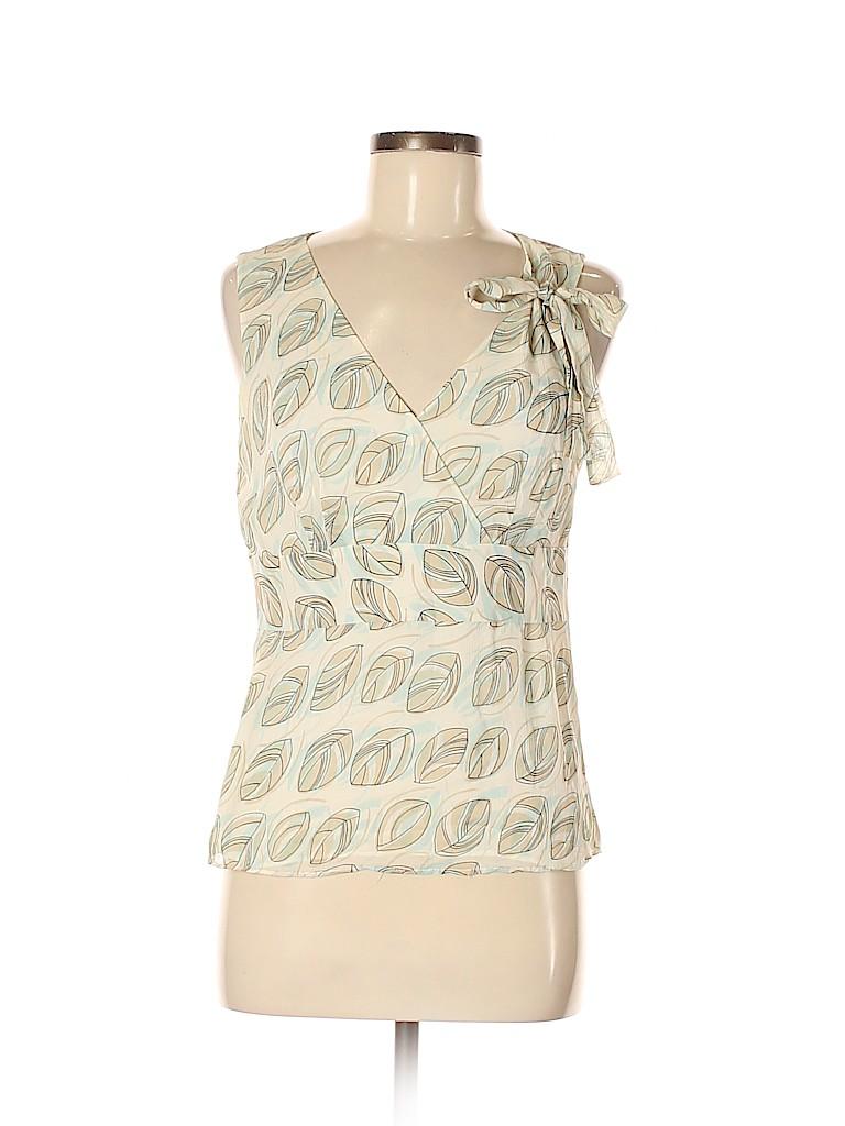 Ann Taylor LOFT Women Sleeveless Silk Top Size 8