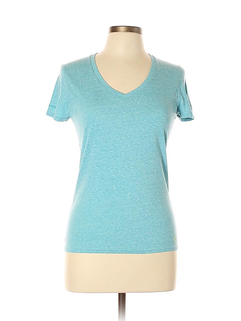 Under Armour Women Short Sleeve T-Shirt Size L
