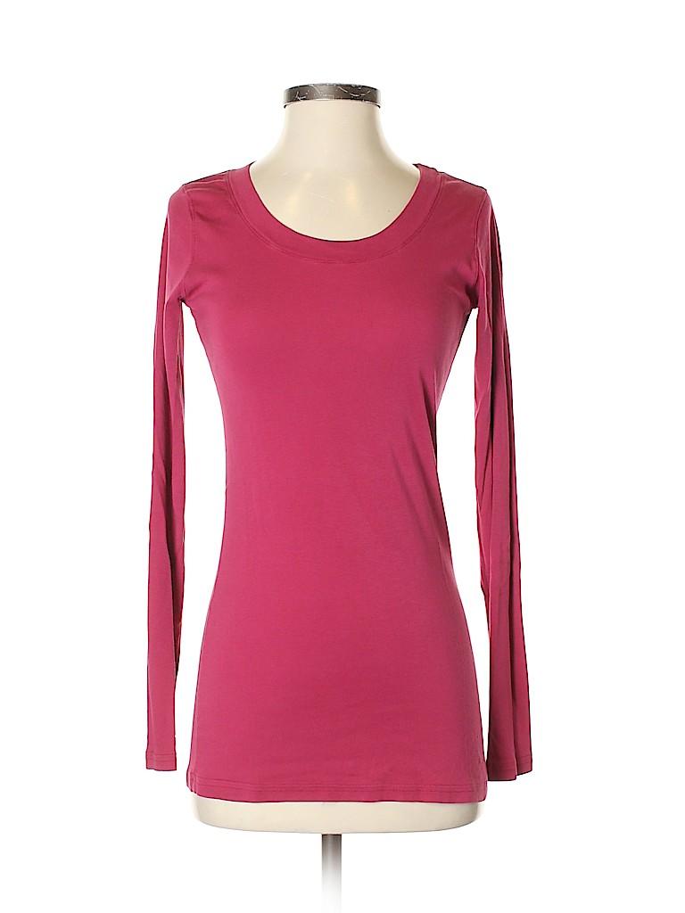 Michael Stars Women Long Sleeve T-Shirt One Size