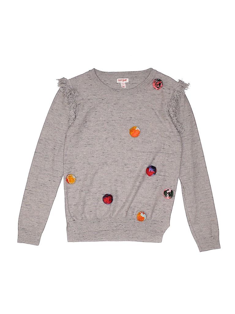 Cat & Jack Girls Sweatshirt Size 10 - 12