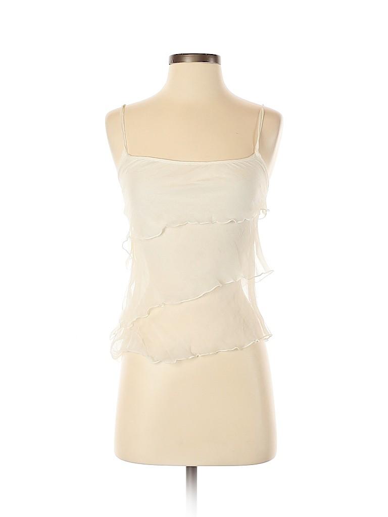 Rubber Ducky Productions, Inc. Women Sleeveless Silk Top Size M