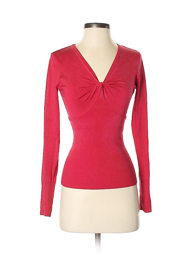 INC International Concepts Women Silk Pullover Sweater Size S