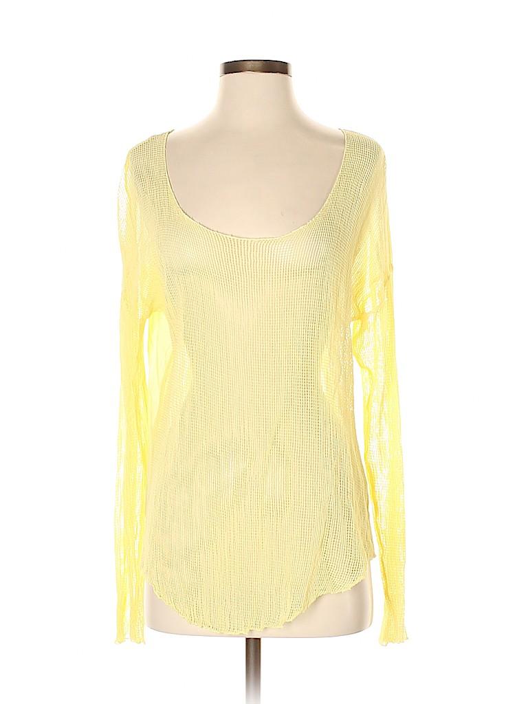 Michael Stars Women Long Sleeve Top Size Sm (0)