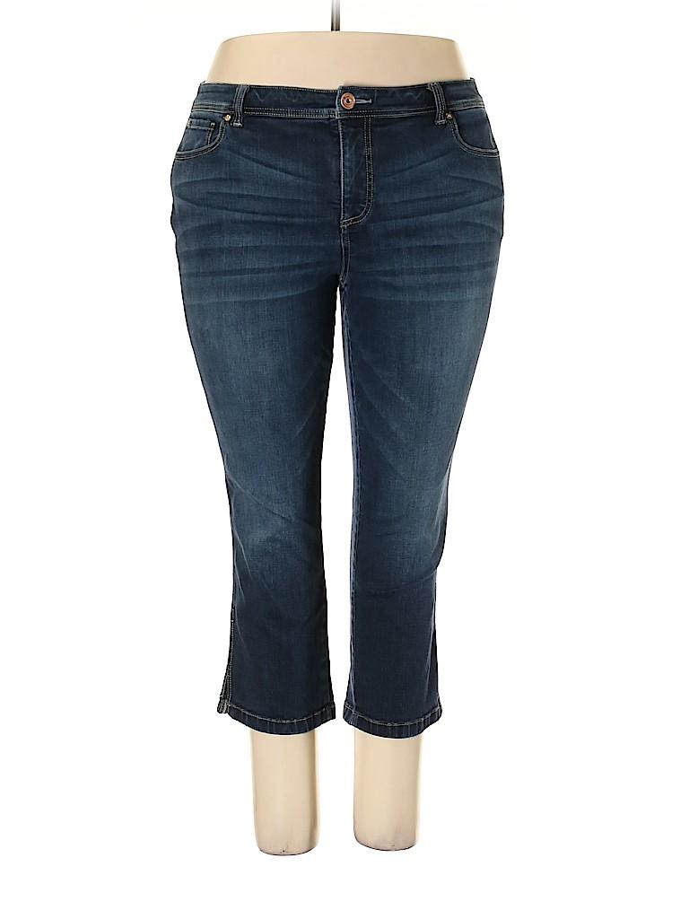 INC International Concepts Women Jeans Size 18 (Plus)