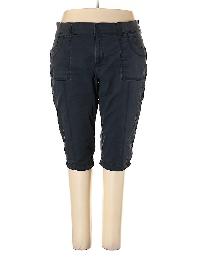 Lee Women Khakis Size 24W (Plus)