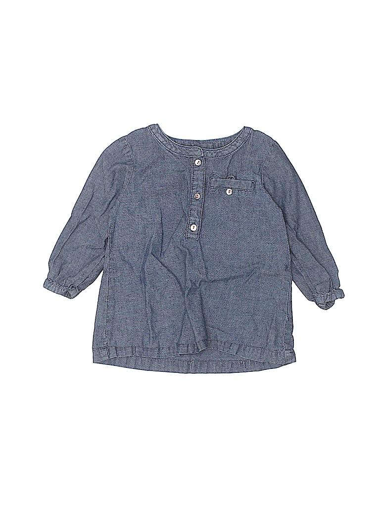 Carter's Girls Long Sleeve Blouse Size 12 mo