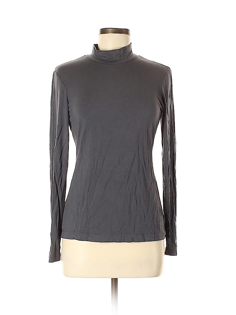 Style&Co Women Long Sleeve T-Shirt Size M