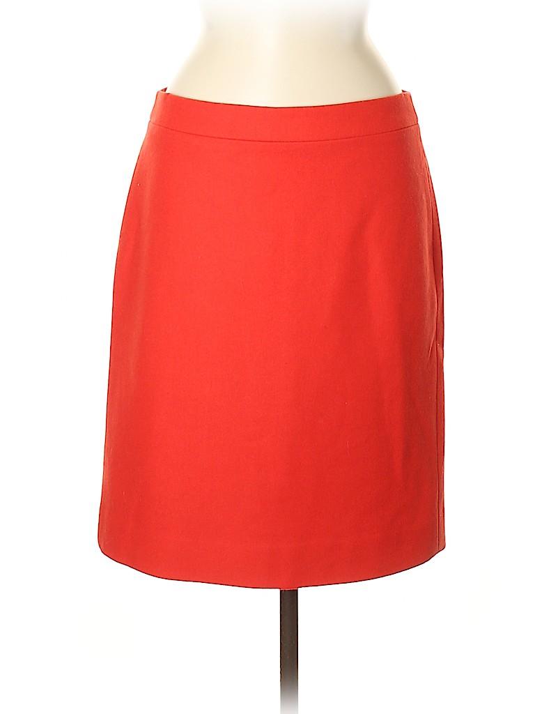 J. Crew Factory Store Women Wool Skirt Size 8