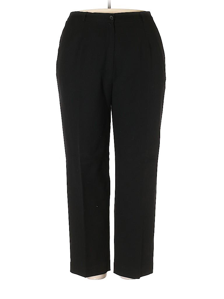 Maggie McNaughton Women Wool Pants Size 18 (Plus)