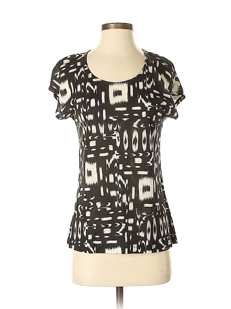 Chico's Women Short Sleeve T-Shirt Size Sm (0)
