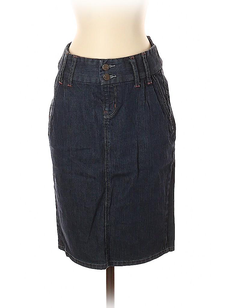 Banana Republic Factory Store Women Denim Skirt Size 2
