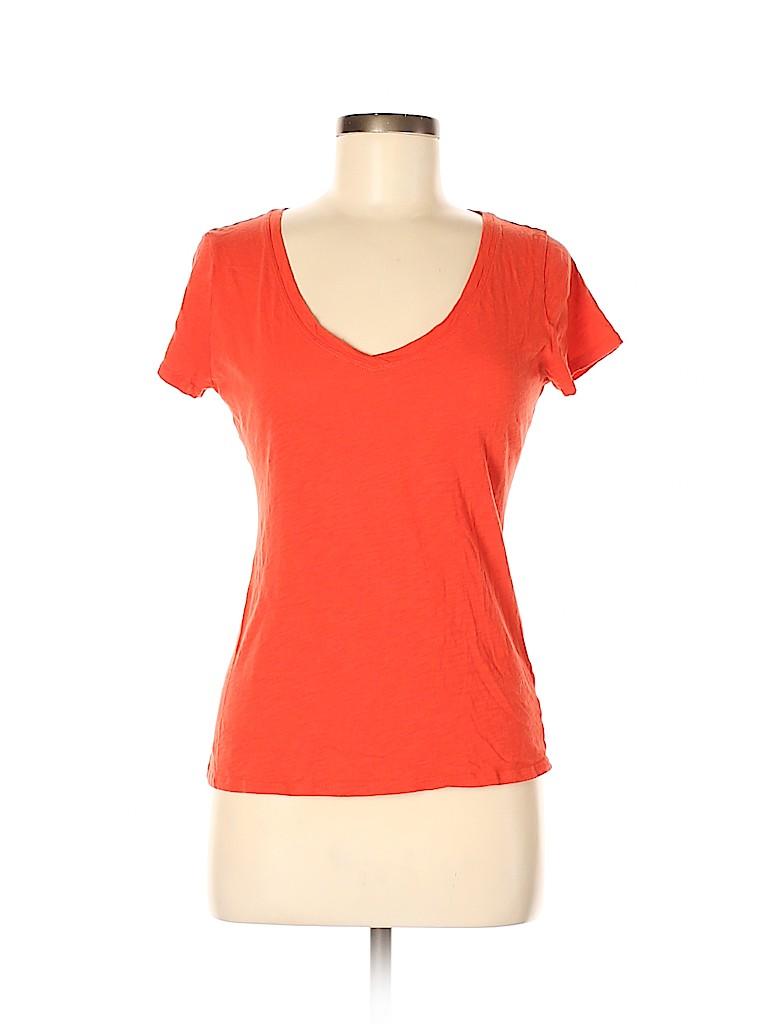New York & Company Women Short Sleeve T-Shirt Size M