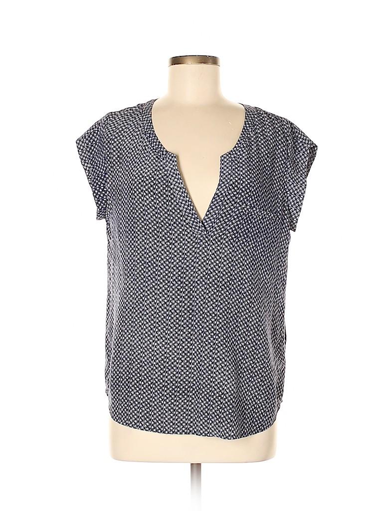 Joie Women Short Sleeve Silk Top Size M