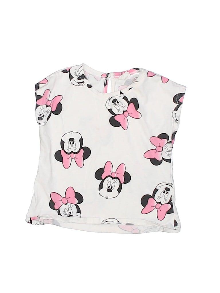Disney Girls Short Sleeve Blouse Size 12-18 mo