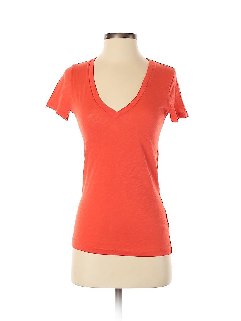 J. Crew Women Short Sleeve T-Shirt Size XS