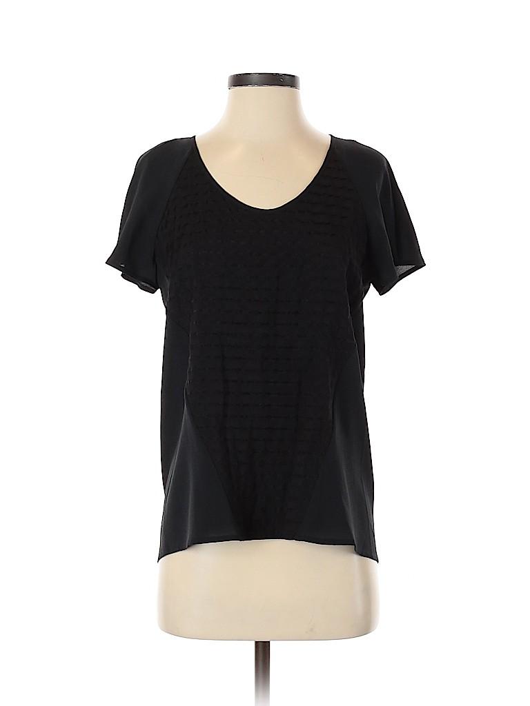 Calvin Klein Women Short Sleeve Blouse Size S