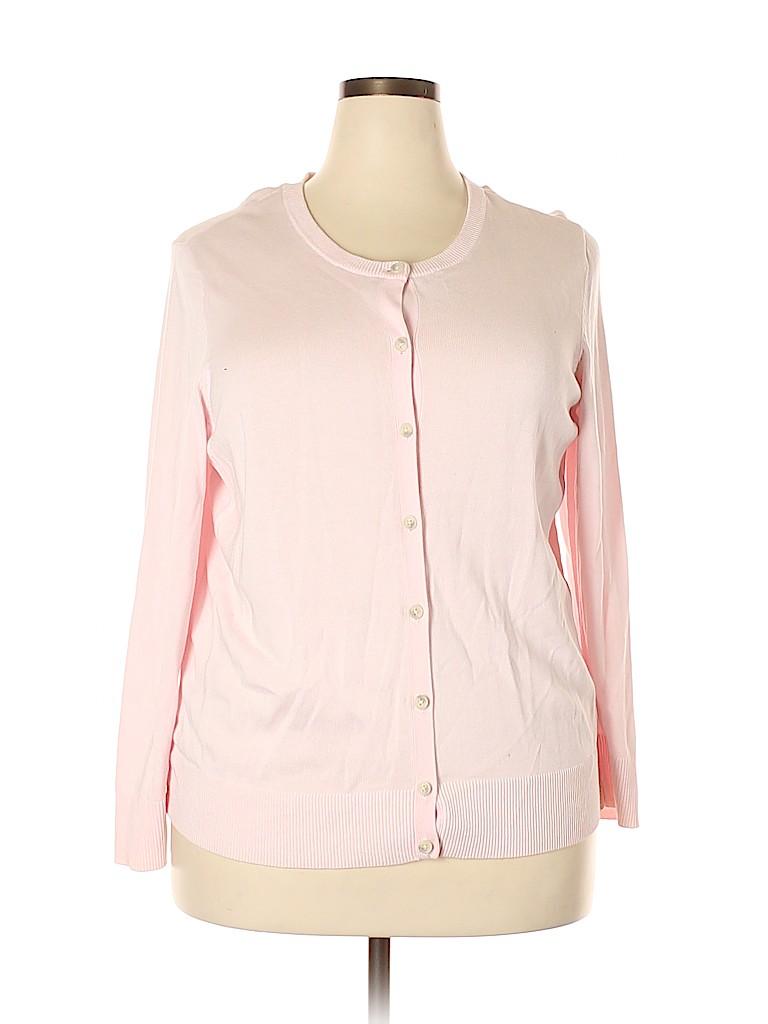 Croft & Barrow Women Cardigan Size 2X (Plus)
