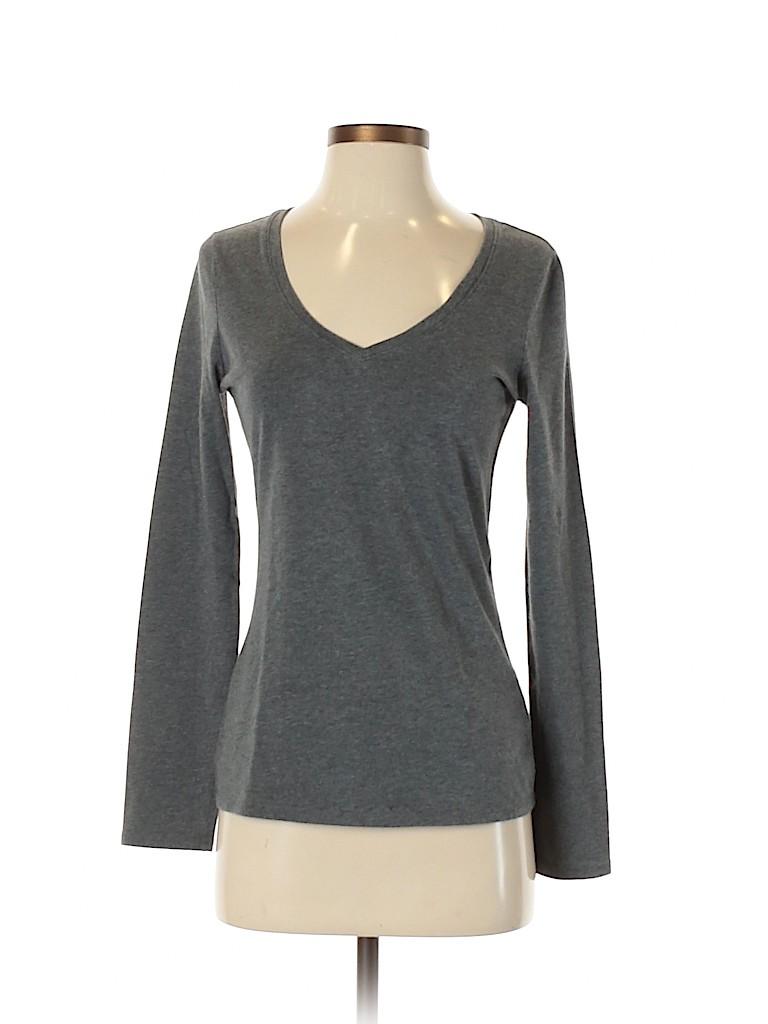 Talbots Women Long Sleeve T-Shirt Size S