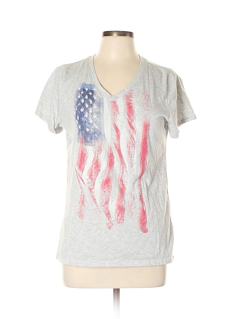 Sonoma Goods for Life Women Short Sleeve T-Shirt Size L