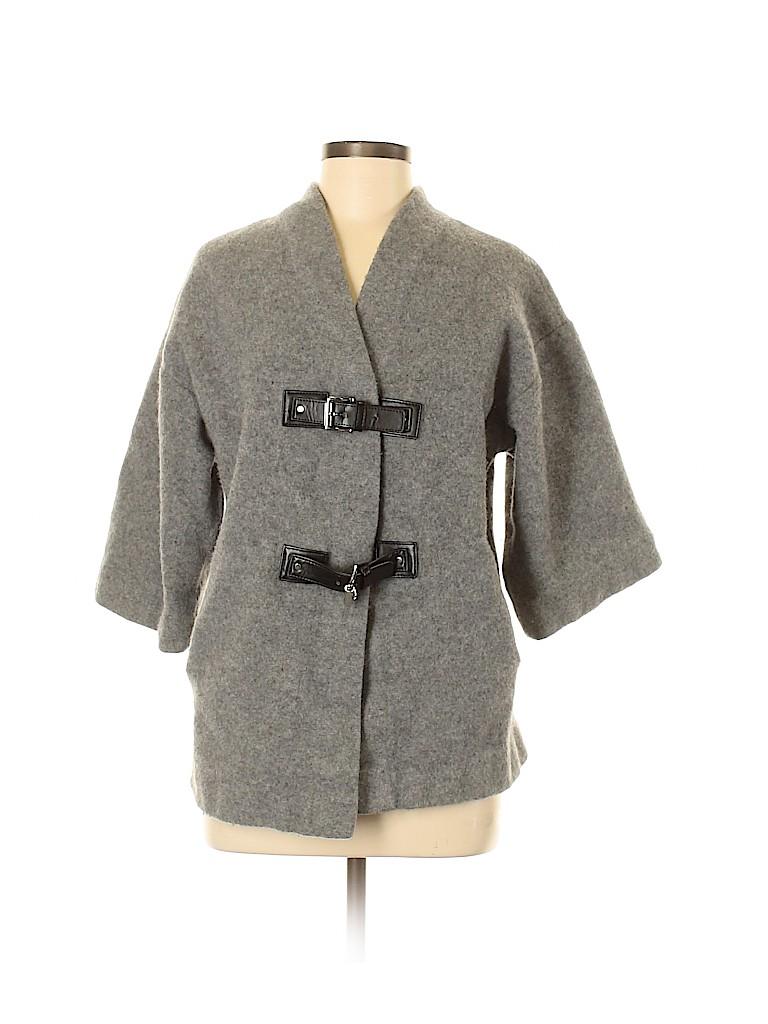 MICHAEL Michael Kors Women Wool Coat Size M