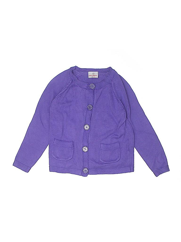 Hanna Andersson Girls Cardigan Size 120 (CM)