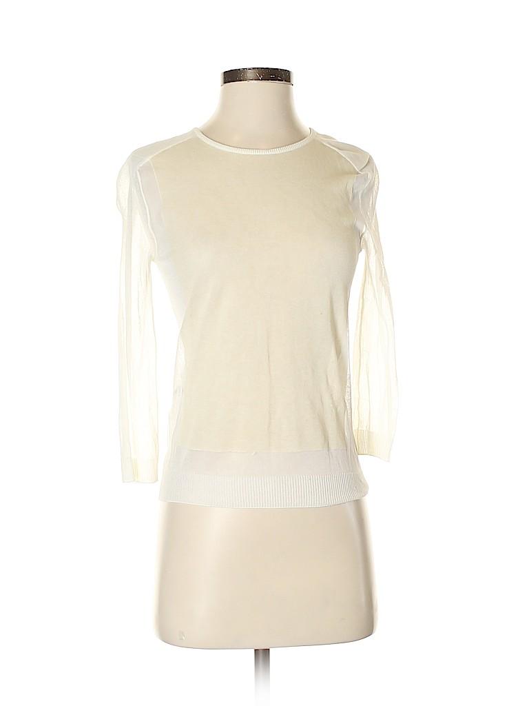 Calvin Klein Women 3/4 Sleeve Top Size XS