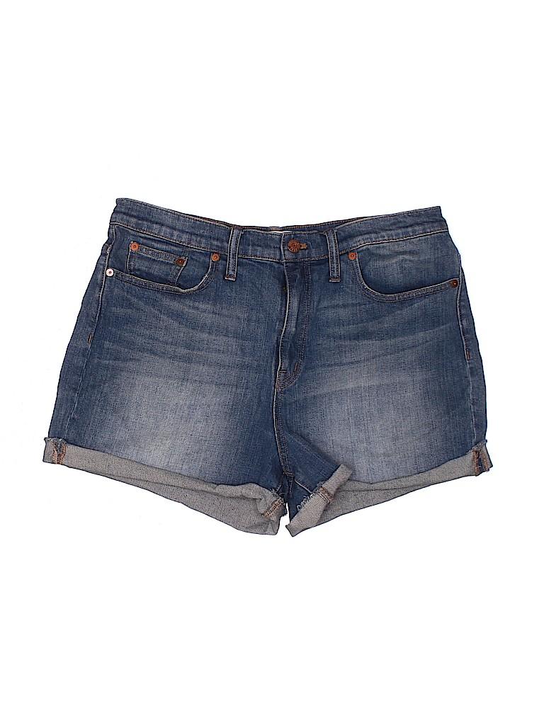Madewell Women Denim Shorts 32 Waist