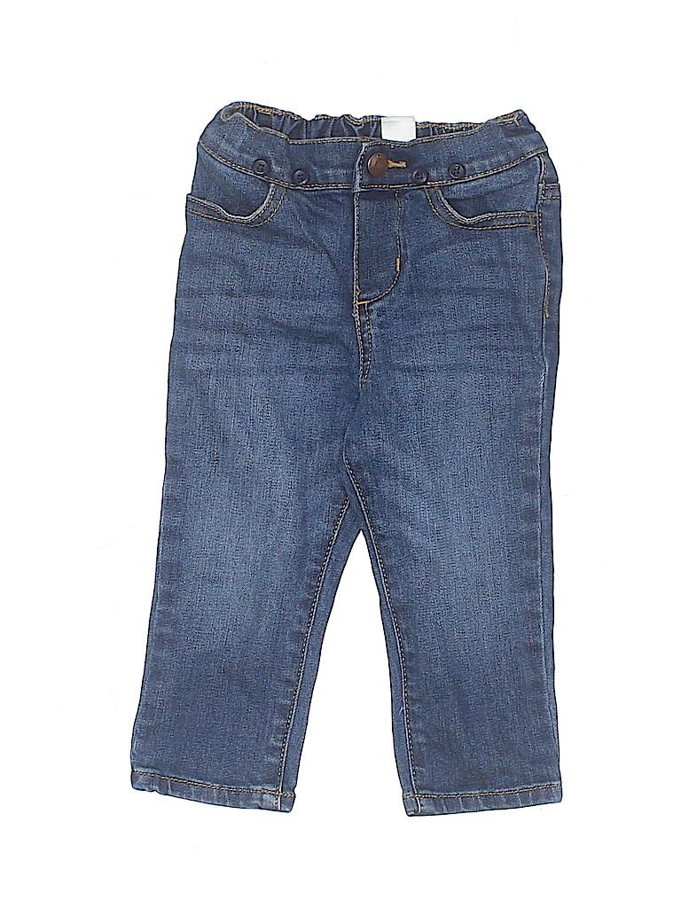 OshKosh B'gosh Girls Jeans Size 18 mo