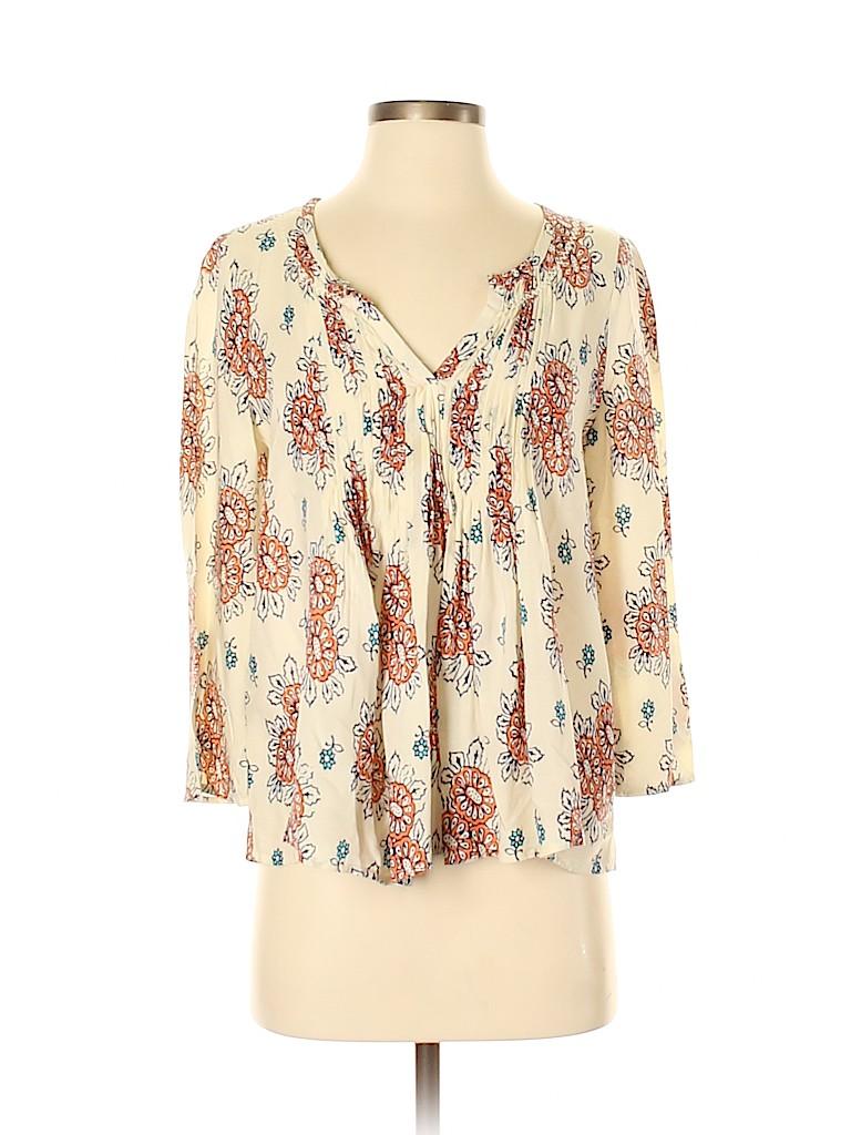 Vanessa Virginia Women 3/4 Sleeve Blouse Size 0