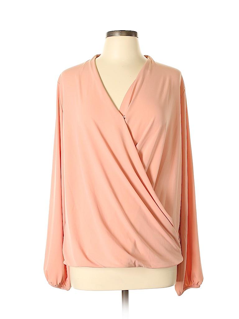 Lindex Women Long Sleeve Top Size L