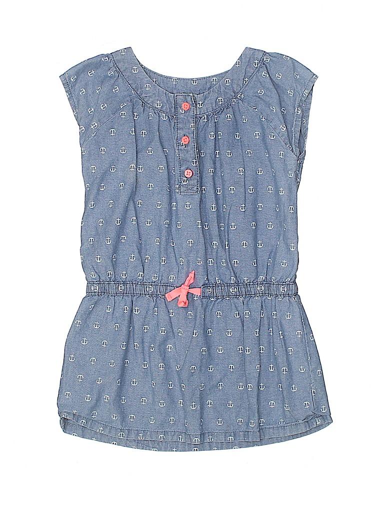 Carter's Girls Short Sleeve Blouse Size 5