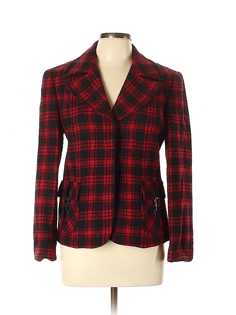 Talbots Women Wool Blazer Size 10