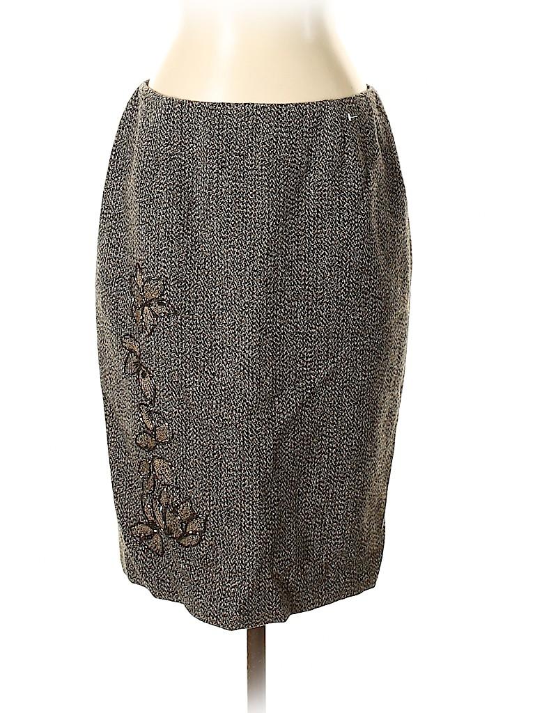 Nine West Women Wool Skirt Size 4