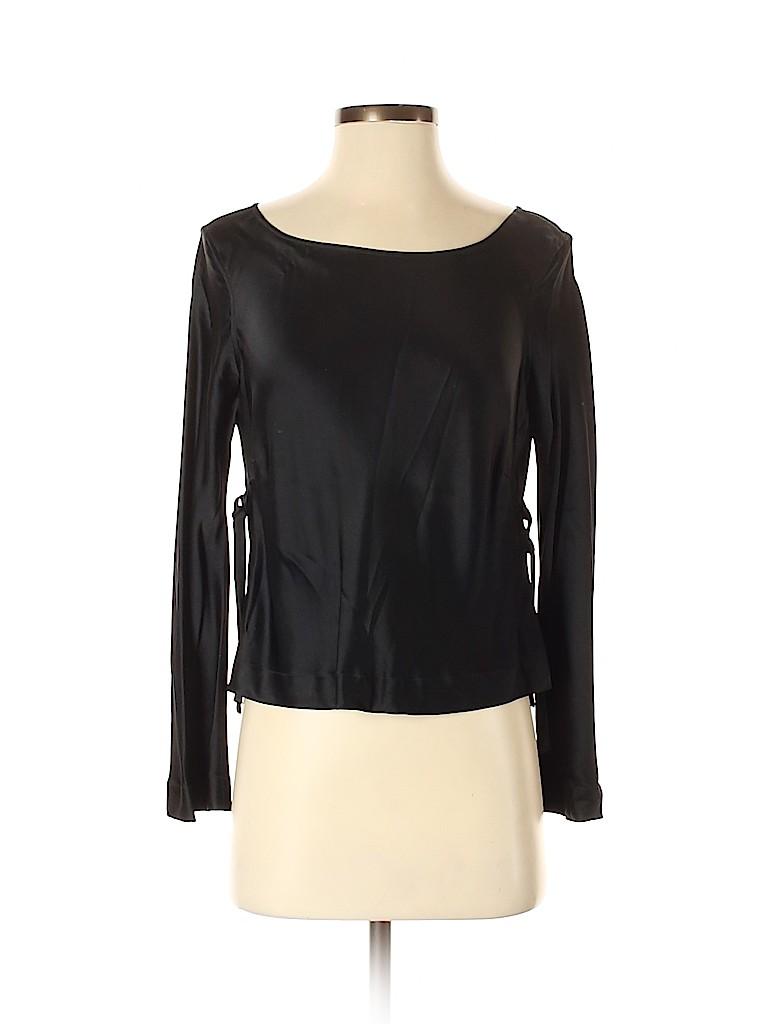 Jil Sander Women Long Sleeve Blouse Size 40 (IT)