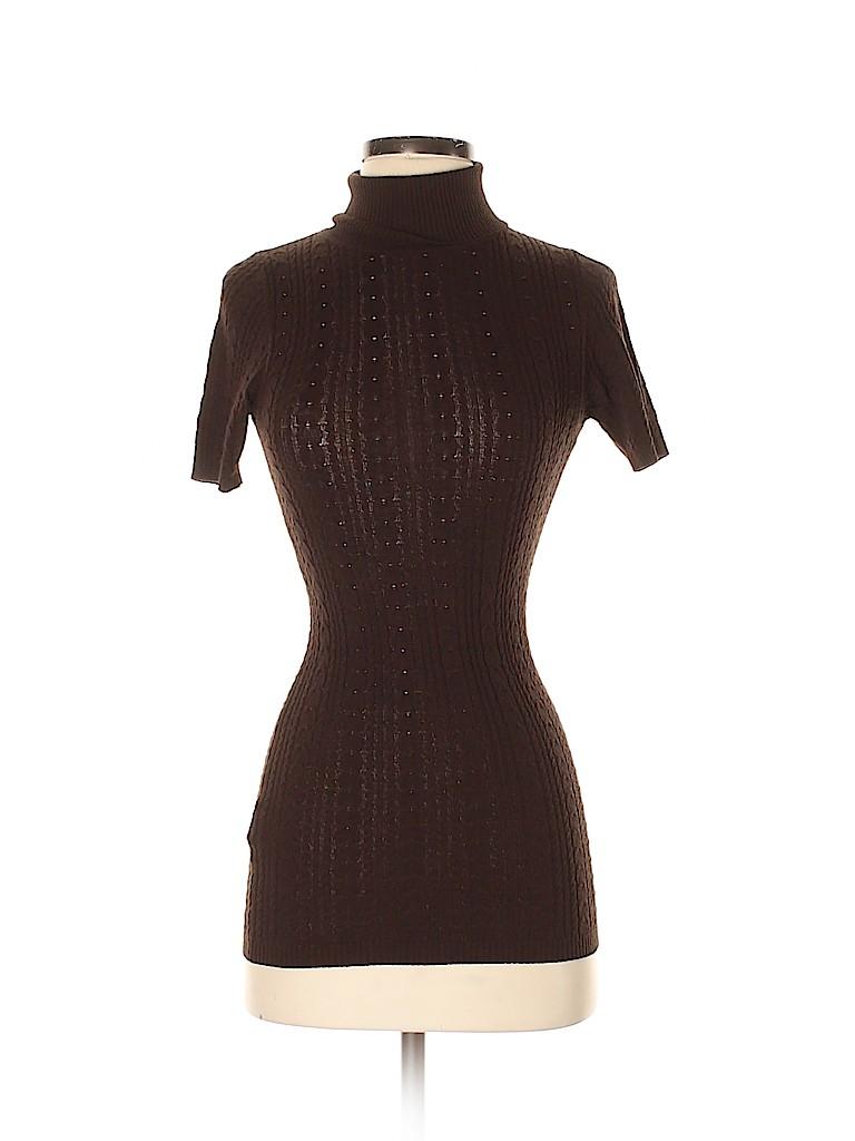 BCBGMAXAZRIA Women Turtleneck Sweater Size S